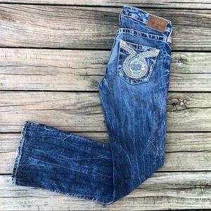 Big Star Women's Jeans-Buckle Sweet Boot Sz 26